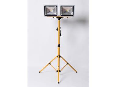 Doppia lampada telescopica a LED con treppiede NADC09011