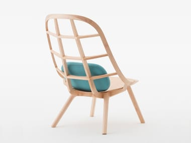 Maple easy chair NADIA | Maple easy chair