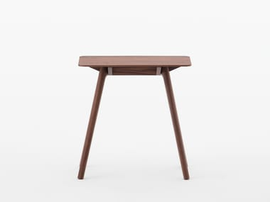 Rectangular walnut side table NADIA | Walnut coffee table