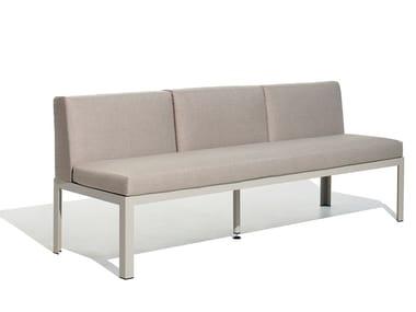 3 seater fabric garden sofa NAK 65 | 3 seater garden sofa