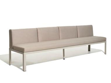 4 seater fabric garden sofa NAK 65 | 4 seater garden sofa