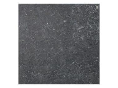Pavimento per esterni in gres porcellanato effetto pietra NAMUR NERO