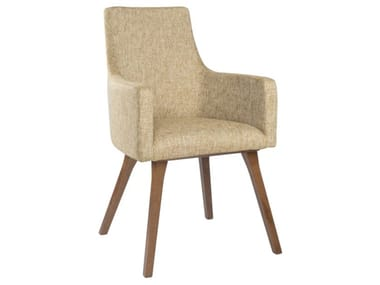 Upholstered fabric chair with armrests NANCY PO01 BASE 13