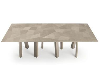Tavolo da pranzo rettangolare in legno NAOKI | Tavolo rettangolare
