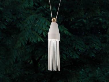 Lampada a sospensione a LED in metallo verniciato NAPPE N3