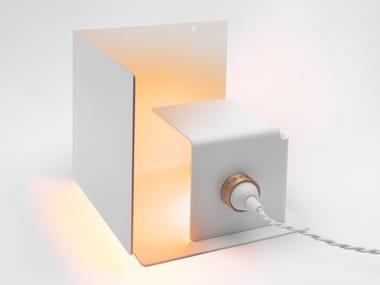 Lampada da tavolo a LED orientabile in alluminio NASCONDINO - MATT WHITE