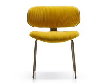Open back fabric chair NATALIA | Chair