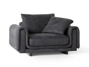Leather small sofa NATIV | Small sofa