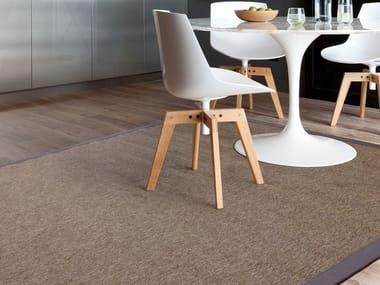 Polypropylene flooring / rug NATURAL/NATURAL CHEVRON