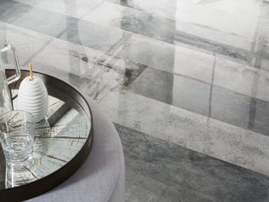 Pavimento in gres porcellanato effetto pietra LASCAUX NAXA BEDROOM