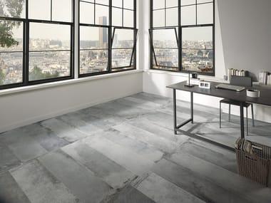 Pavimento in gres porcellanato effetto pietra LASCAUX NAXA STUDIO
