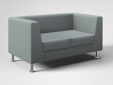 2 seater leather sofa NAXOS ELITE | 2 seater sofa