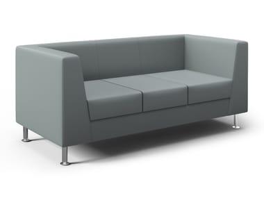 3 seater leather sofa NAXOS ELITE | 3 seater sofa
