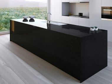 Silestone® kitchen worktop NEGRO STELLAR