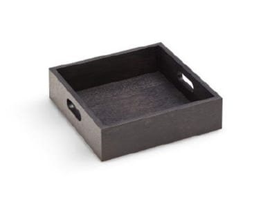 Square wooden tray NELSON | Square tray