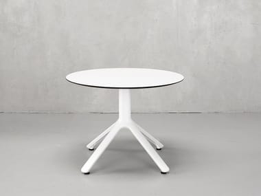 Round aluminium bistro side table NEMO | Round coffee table