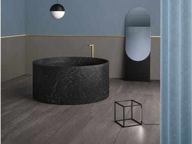 Porcelain stoneware wall/floor tiles with stone effect NEO ANTHRACITE