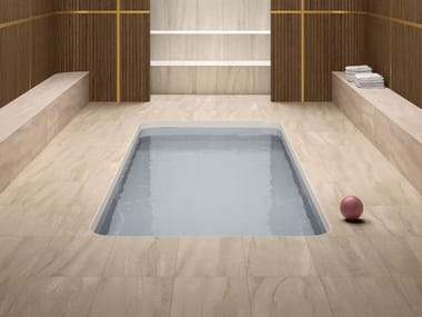 Porcelain stoneware wall/floor tiles with stone effect NEO BEIGE