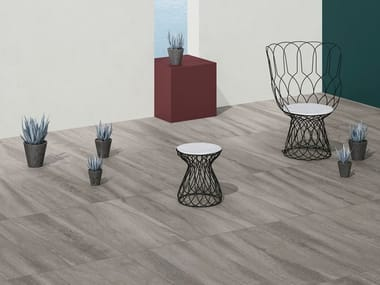 Porcelain stoneware wall/floor tiles with stone effect NEO DOVE