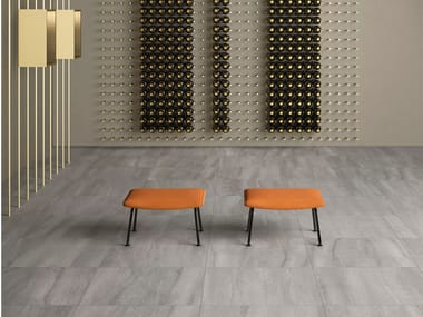 Porcelain stoneware wall/floor tiles with stone effect NEO GREY