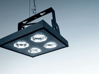 Proiettore industriale a LED in acciaio NEST