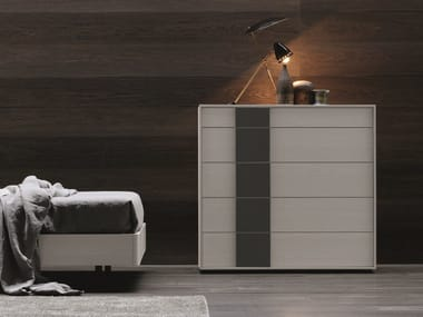 Melamine-faced chipboard chest of drawers NETTUNO | Chest of drawers