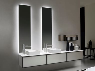 Bathroom mirror with integrated lighting NEUTROLED