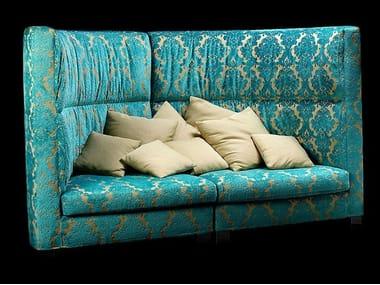 High-back fabric sofa NEW ROTONDO