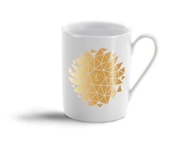 Porcelain espresso cup NEW SUN GOLD MUG