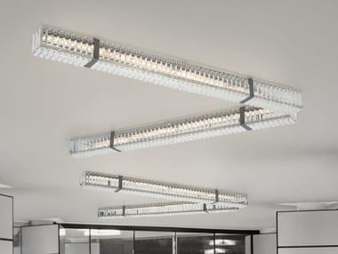 Lampada da soffitto in Cristallo al piombo NEW YORK 9282 | Lampada da soffitto