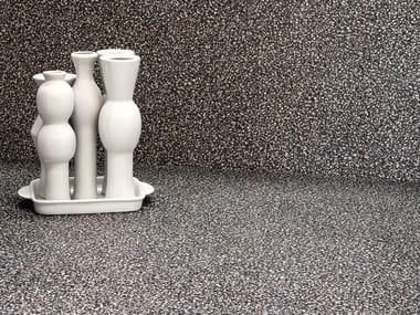 Porcelain stoneware wall/floor tiles terrazzo effect NEWDECÒ DARK