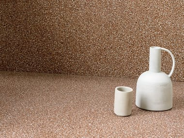 Porcelain stoneware wall/floor tiles terrazzo effect NEWDECÒ FIRE