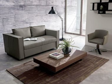 Height-adjustable folding coffee table NEWOOD | Wooden coffee table