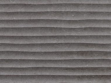 3D Wall Cladding with concrete effect OLD DARK GRAY