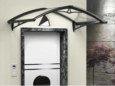 Modular acrylic glass door canopy NEWSTYLE NS-02
