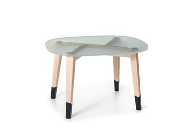 Low Maple Coffee Tables Archiproducts - Maple and glass coffee table