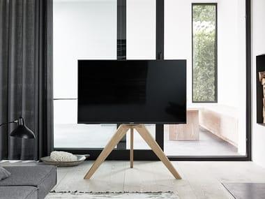 Floor mounted wooden stand NEXT OP1