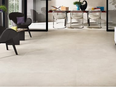 Ceramic wall/floor tiles with stone effect NEXTONE WHITE