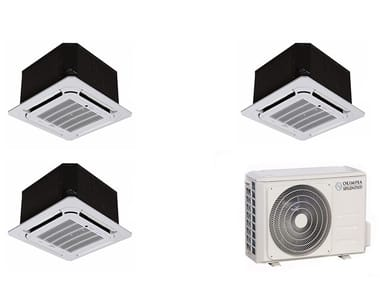 Cassette ceiling mounted Multi-split air conditioning unit NEXYA S4 E Cassette Inverter Multi