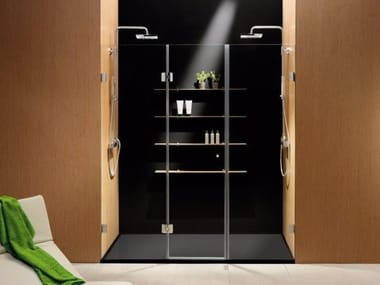 Niche rectangular crystal shower cabin Niche shower cabin