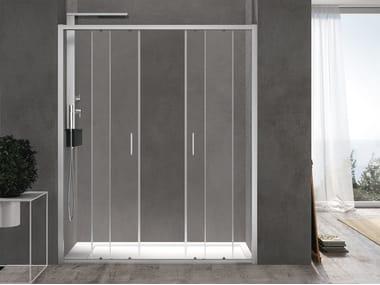 Niche shower cabin with sliding door FORTY   Niche shower cabin