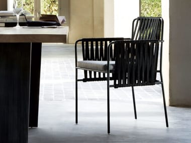 Polyester chair with armrests NIDO   Chair