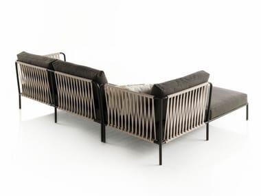 Sectional polyester sofa NIDO   Sectional sofa