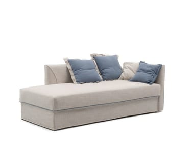 Upholstered fabric day bed NIGHT&DAY MERIDIENNE