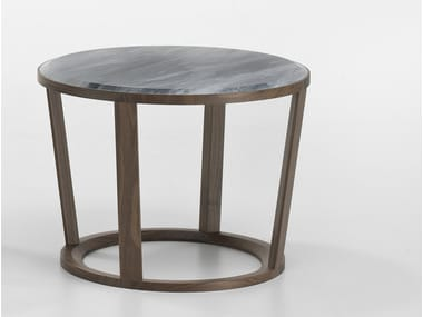 Low round marble coffee table NIKY   Marble coffee table