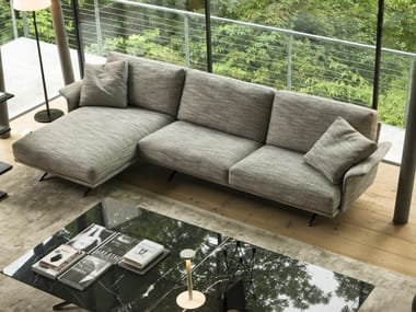 3 seater sofa with chaise longue NILSON | Sofa with chaise longue