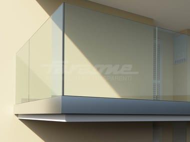 Glass balustrade NINFA 195