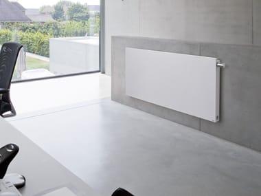 Wall-mounted steel decorative radiator NIVA | Horizontal radiator
