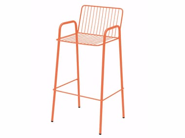 Garden chair with armrests NIZA | Chair