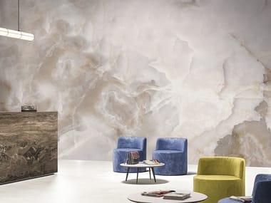 Vinyl wallpaper with marble effect NOBILIS